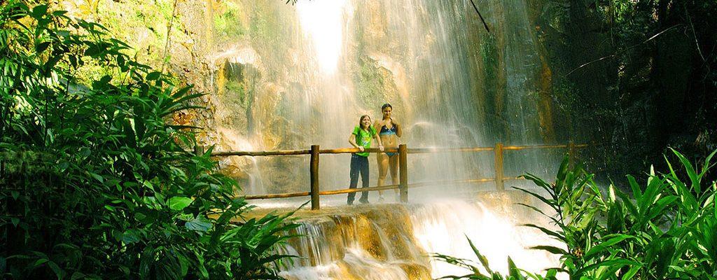 Cachoeira em Brotas