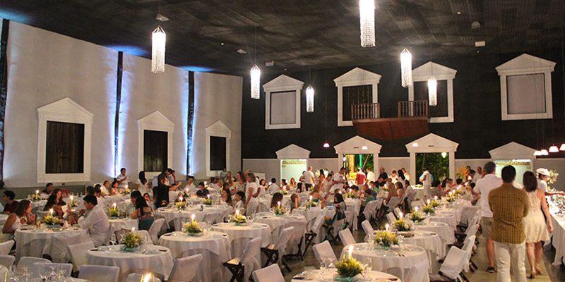 Ceia no Recanto Alvorada Eco Resort