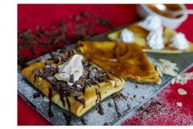 Poção – Trio de crepes chocolat, caramel e suzette