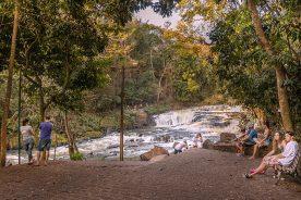 Parque dos Saltos em Brotas